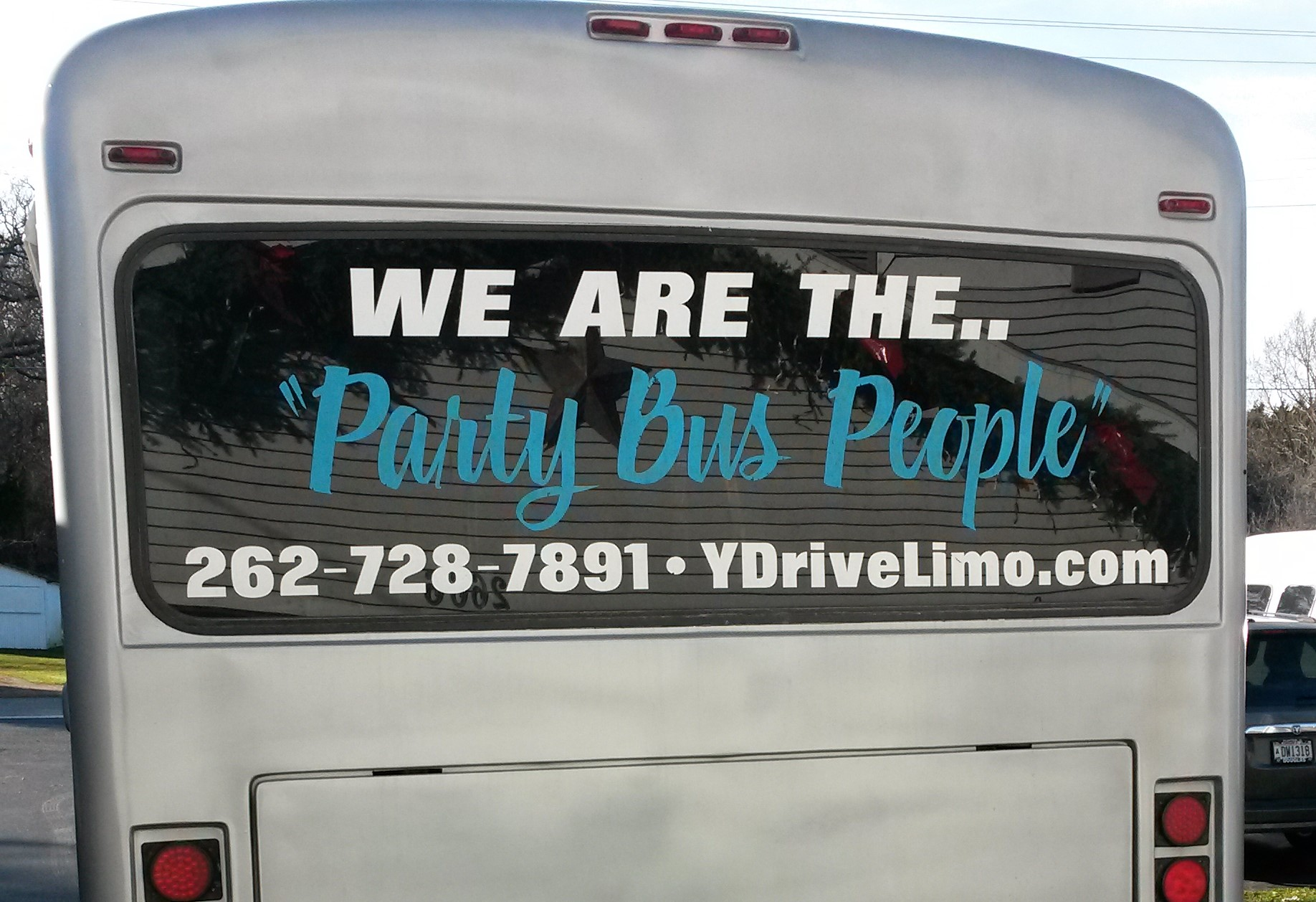 #5 Party Bus Rear